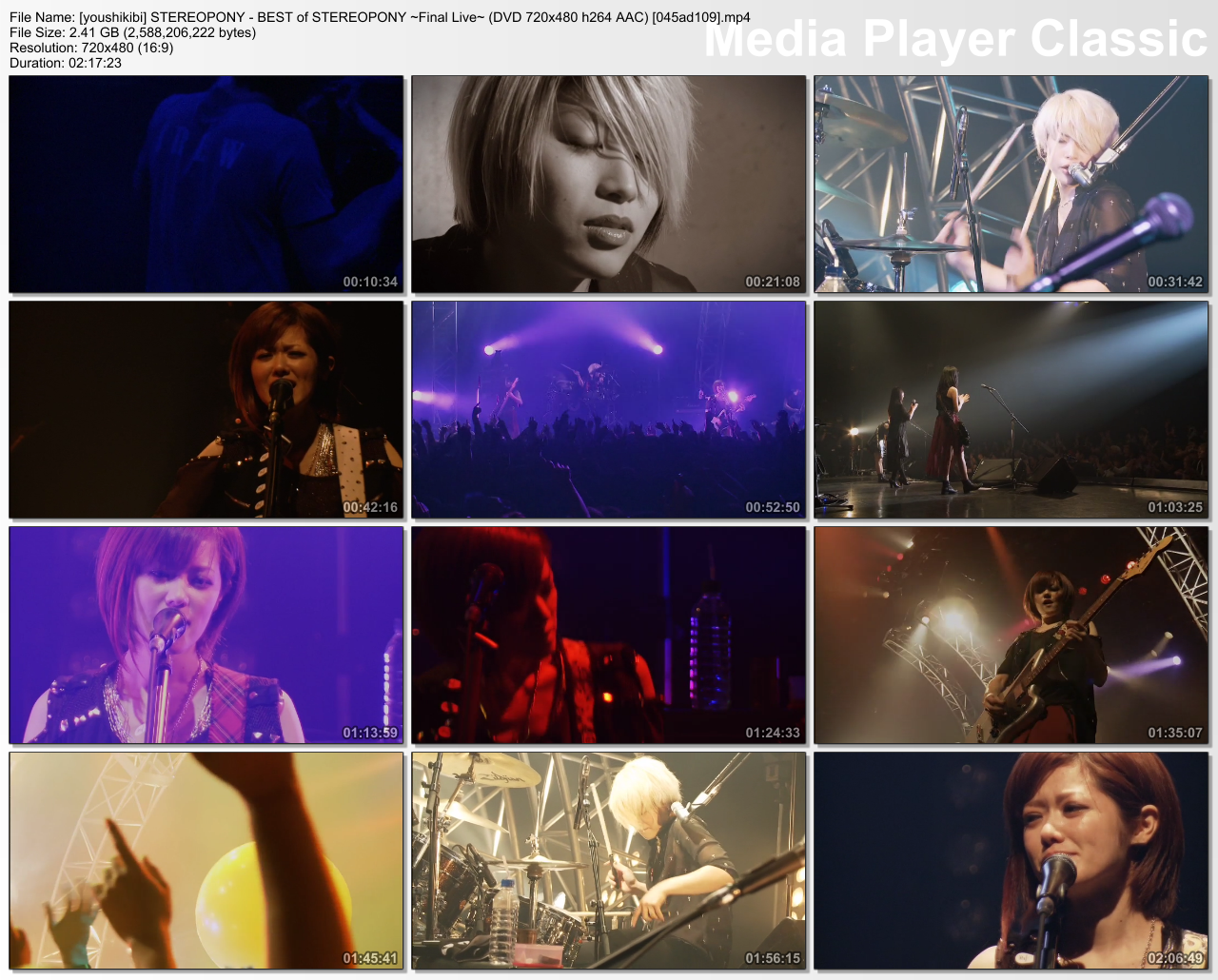 STEREOPONY - BEST of STEREOPONY ~Final Live~